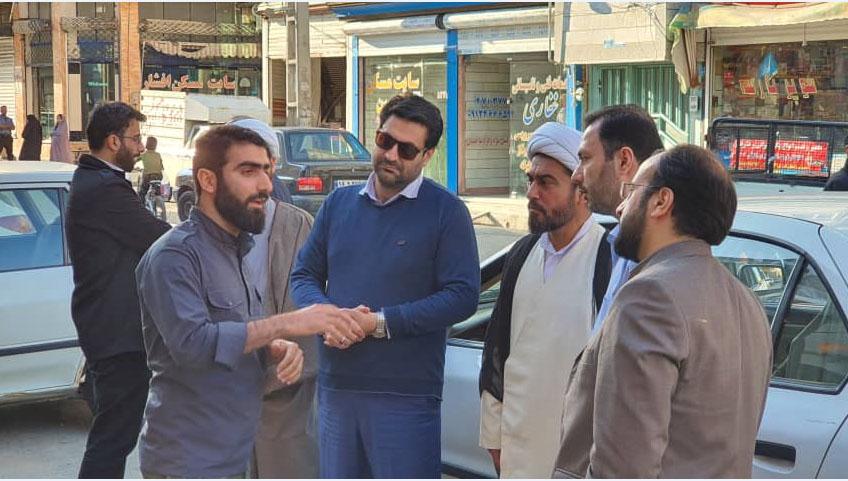 دیدار با گروه های جهادی حصارک و کمالشهر