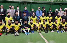 بازدید از اردوی آماده سازی تیم فوتسال مقاومت البرز