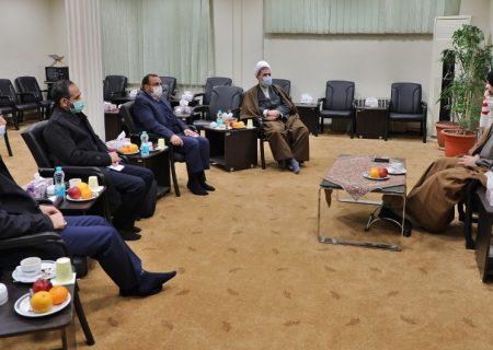 نشست مجمع نمایندگان البرز با نماینده ولیفقیه در استان با دعوت از مدیرکل اوقاف