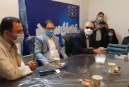 نشست مهدی عسگری با اعضای انجمن نابینایان استان البرز