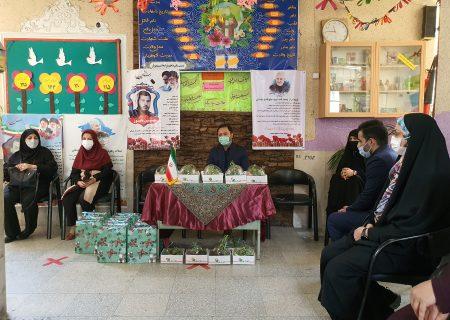دیدار مهدی عسگری با معلمان دبستان دولتی مسعود امیدوار ناحیه 3 آموزش و پرورش شهرستان کرج