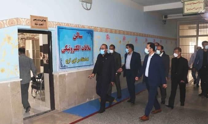 مهدی عسگری در بازدید از ندامتگاه مرکزی کرج